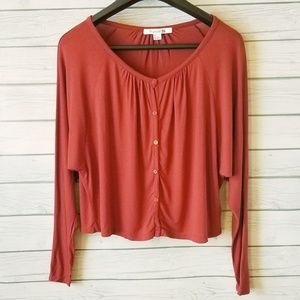 Forever 21 Sweaters - Forever21 | Batwing Cropped Cardigan (A51)